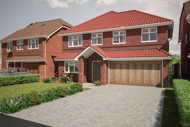 Thumbnail Detached house for sale in Felstead Way, Luton