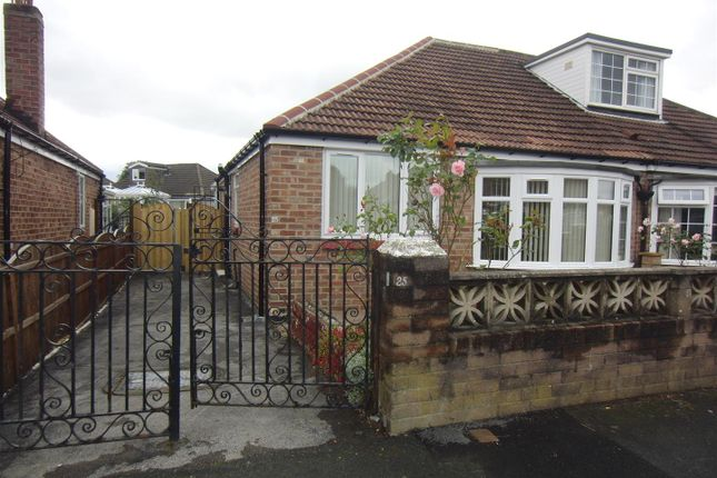 Thumbnail Semi-detached bungalow to rent in Kennerleigh Avenue, Leeds