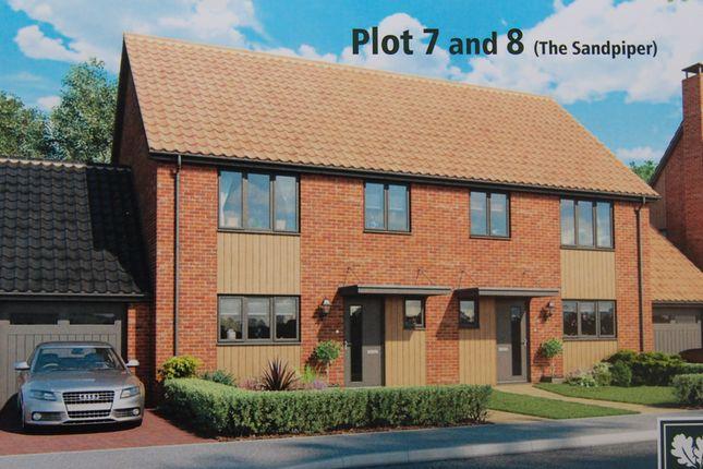 Thumbnail Semi-detached house for sale in Nightingale Close, Melton, Woodbridge