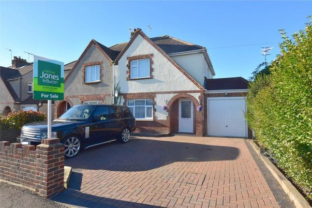 Thumbnail Semi-detached house for sale in Boundstone Lane, Lancing, West Sussex