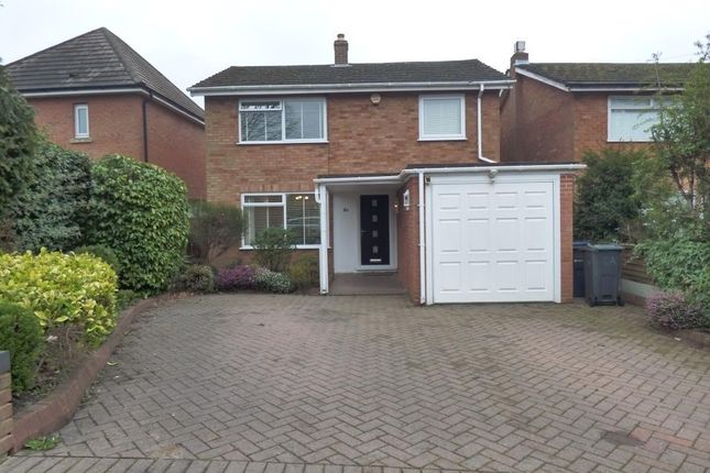 Thumbnail Detached house to rent in Queens Park Road, Harborne, Birmingham