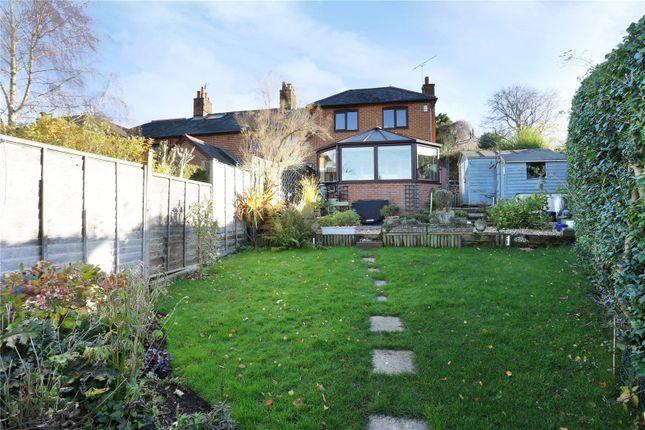 Thumbnail Semi-detached house for sale in School Lane, Ewshot, Farnham
