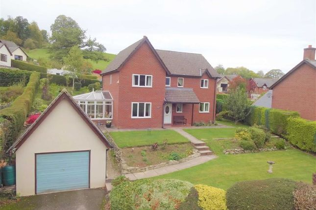 Thumbnail Detached house for sale in 3, Llwyn-Y-Garth, Llanfyllin, Pows
