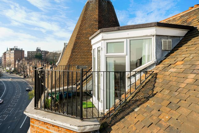 Terrace of Langland Mansions, 228 Finchley Road, Hampstead, London NW3