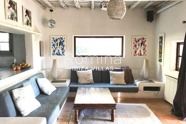 Living Room of Santa Gertrudis De Fruitera, Ibiza, Balearic Islands, Spain