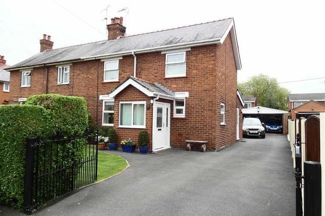 Thumbnail Semi-detached house for sale in Mountain View, Rossett, Wrexham