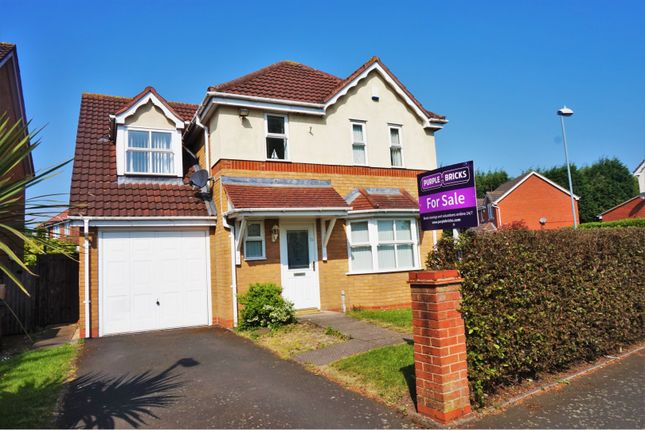 Thumbnail Detached house for sale in Westmead Crescent, Pype Hayes, Erdington, Birmingham