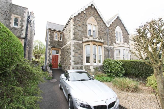 Thumbnail Semi-detached house for sale in Hallam Road, Clevedon