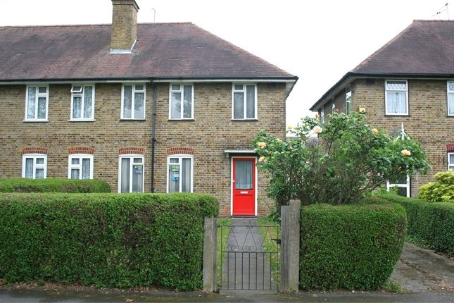 Thumbnail End terrace house for sale in Central Avenue, Hayes