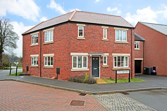 Thumbnail Semi-detached house to rent in White Horse Road, Marlborough, Wiltshire