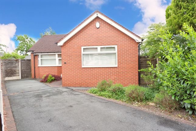 Thumbnail Detached bungalow for sale in Mayfair Crescent, Manchester