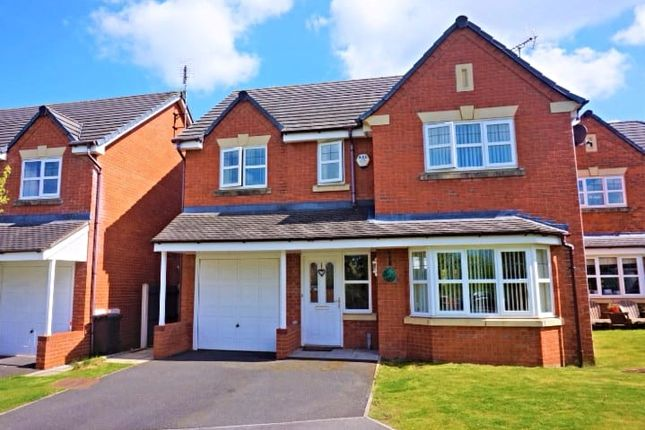4 bed detached house for sale in Tryfan Court, Buckley