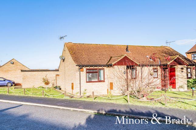Thumbnail Semi-detached bungalow for sale in Coburg Close, Watton, Thetford
