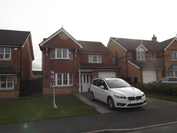 Thumbnail Detached house for sale in Pinewood Close, Newton Aycliffe, Durham