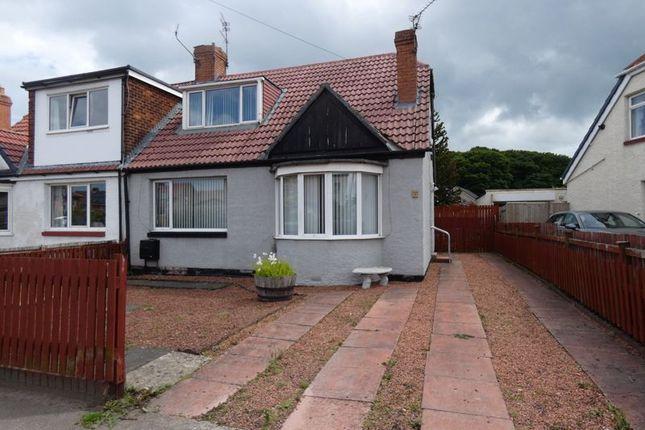 Thumbnail Semi-detached bungalow for sale in Finchale Road, Framwellgate Moor, Durham