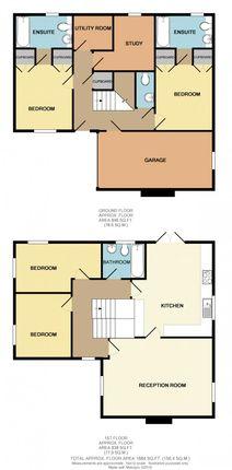 Thumbnail Detached house for sale in Callas Rise, Wanborough, Swindon