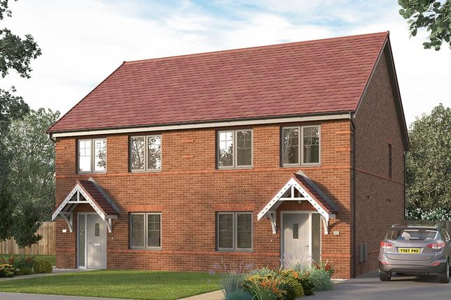 """3 bed detached house for sale in """"The Lorton Semi"""" at Etwall Road, Mickleover, Derby DE3"""