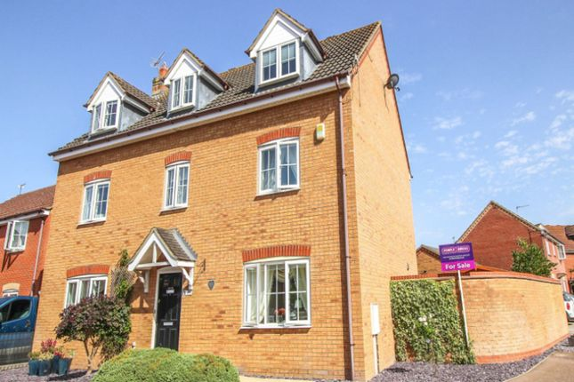 Thumbnail Detached house for sale in Sandy Road, Buckingham