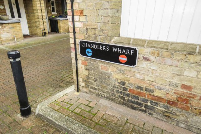 Thumbnail Terraced house for sale in Chandlers Wharf, St. Neots