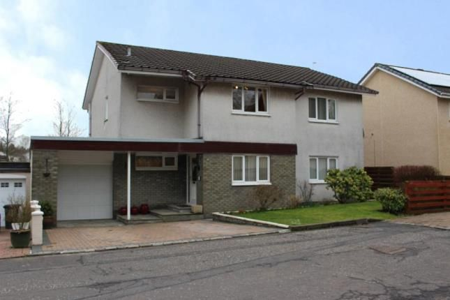 Thumbnail Detached house for sale in Locksley Road, Cumbernauld, Glasgow, North Lanarkshire