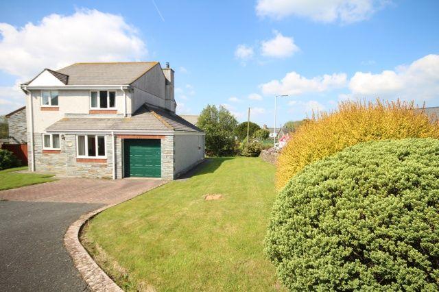 Thumbnail Detached house for sale in Lemellen Gardens, St. Kew Highway, Bodmin