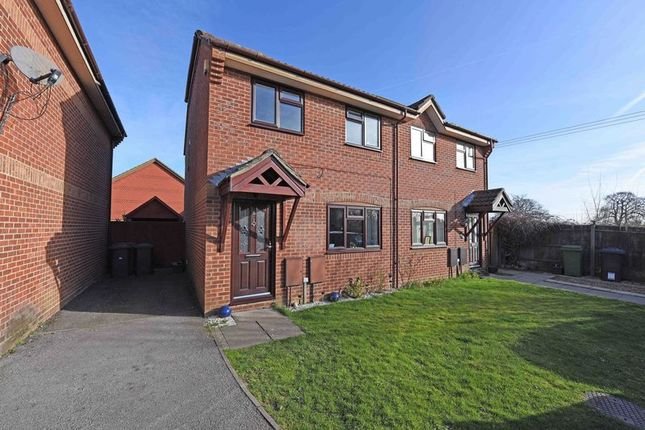 Thumbnail Semi-detached house for sale in Strawberry Fields, Bramley, Tadley