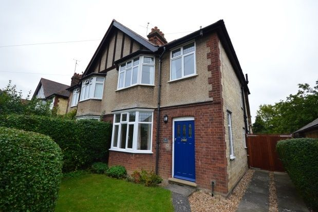 Thumbnail Property to rent in Leys Road, Cambridge