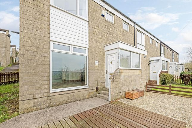 Thumbnail End terrace house to rent in Windrush Close, Bath