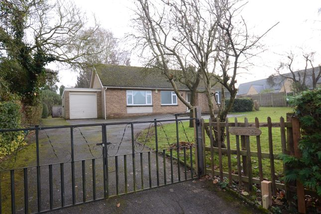Thumbnail Detached bungalow to rent in School Lane, Elton, Peterborough
