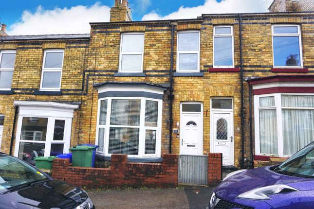 2 bed terraced house for sale in Highfield, Scarborough YO12
