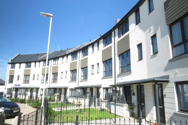 Thumbnail Town house for sale in Broxton Drive, Plymstock, Plymouth
