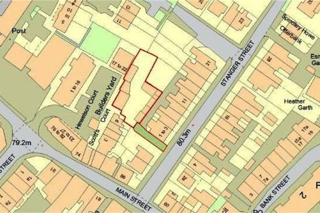 Thumbnail Land for sale in Development Site (Hodgson's Builders Yard), Rear Of 1-3 Stanger Street, Keswick