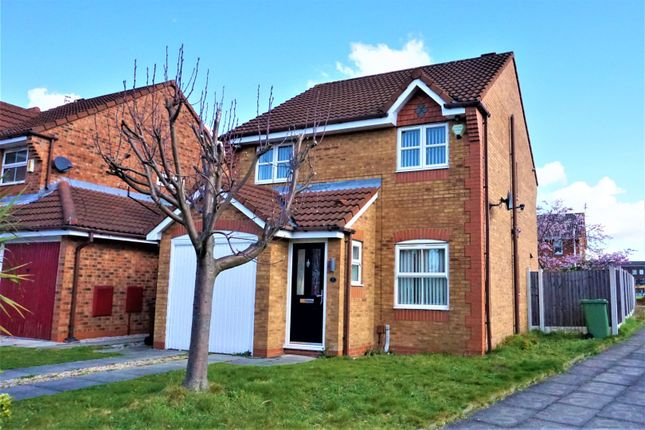 Thumbnail Detached house for sale in Quartz Way, Liverpool