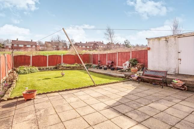 Rear Garden of Wellstone Drive, Bramley, Leeds, West Yorkshire LS13