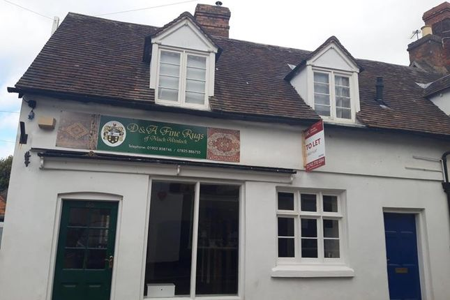 Thumbnail Retail premises to let in 53 High Street, Much Wenlock, Shropshire