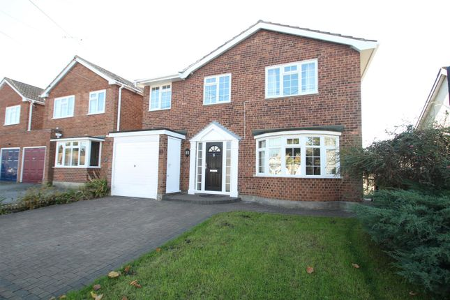 Thumbnail Detached house for sale in Philbrick Crescent, Rayleigh
