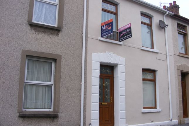 Thumbnail Terraced house to rent in Brynmor Road, Llanelli