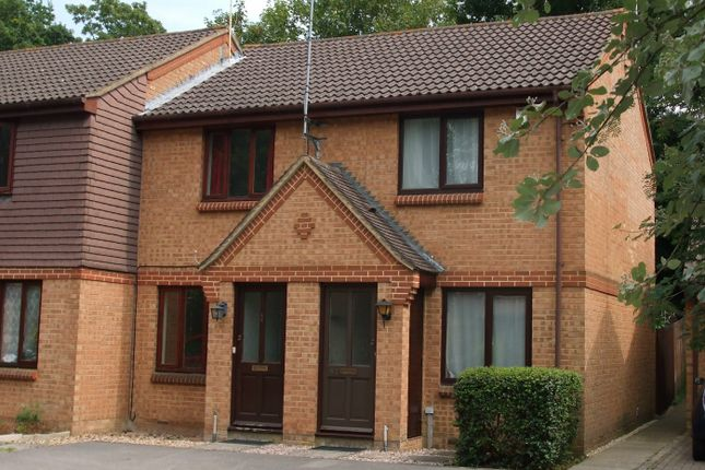 Thumbnail End terrace house to rent in Great Oaks Chase, Chineham