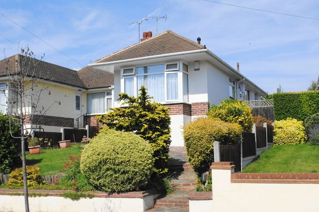 Thumbnail Semi-detached bungalow for sale in Fairway Gardens, Leigh-On-Sea