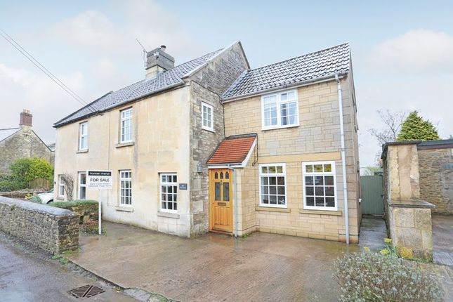 Thumbnail Semi-detached house for sale in The Street, Broughton Gifford, Melksham