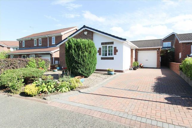 Thumbnail Bungalow for sale in Hauxley Drive, Northburn Dale, Cramlington