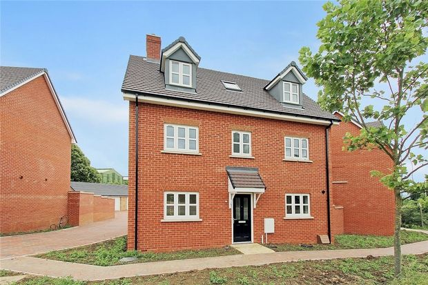 Thumbnail Detached house for sale in Chiswell Place, New Cardington, Bedfordshire