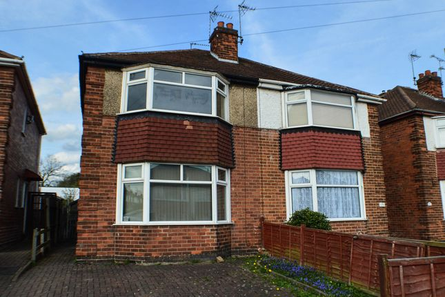Thumbnail Semi-detached house to rent in St. Albans Road, Derby