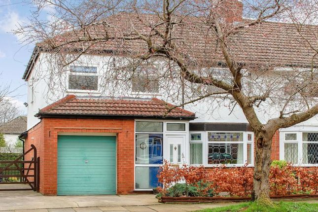 Thumbnail Semi-detached house for sale in Highfield Road, Cheadle Hulme, Cheadle