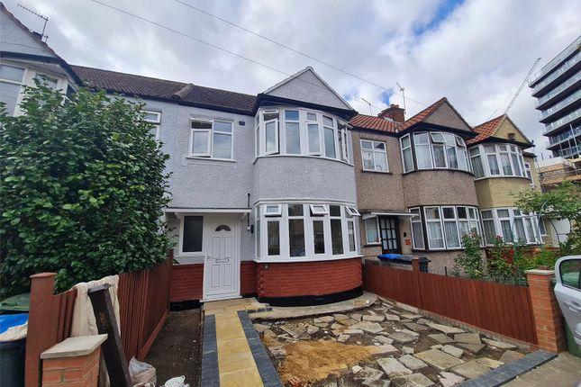 Thumbnail Terraced house to rent in Carylon Close, Alperton, London