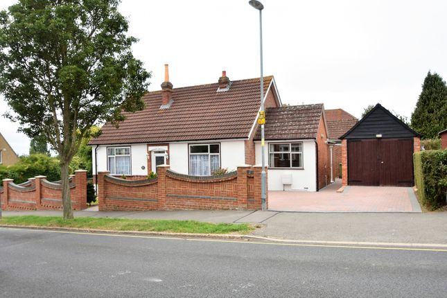Thumbnail Detached bungalow to rent in Solent Road, Drayton, Portsmouth