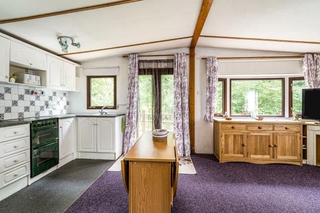 Lounge/Kitchen of Ditton Mill Park, Cleobury Mortimer, Shropshire DY14