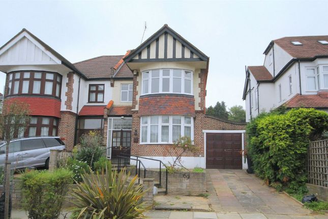Thumbnail Semi-detached house to rent in Minchenden Crescent, London