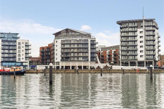 Thumbnail Flat to rent in Sirocco, Channel Way, Ocean Village, Southampton