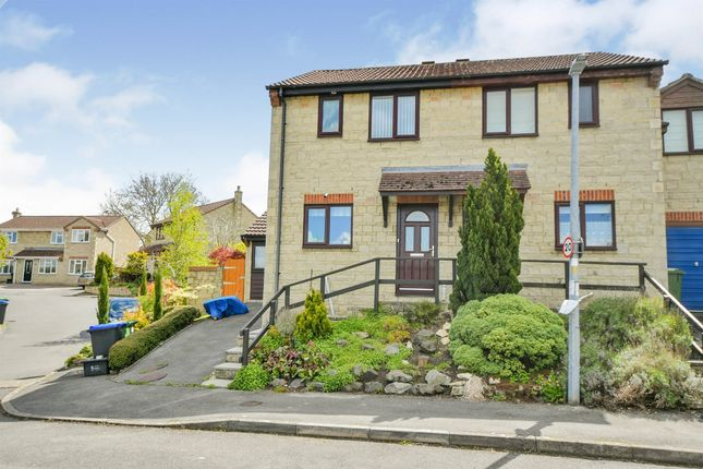3 bed semi-detached house for sale in Wenhill Heights, Calne SN11